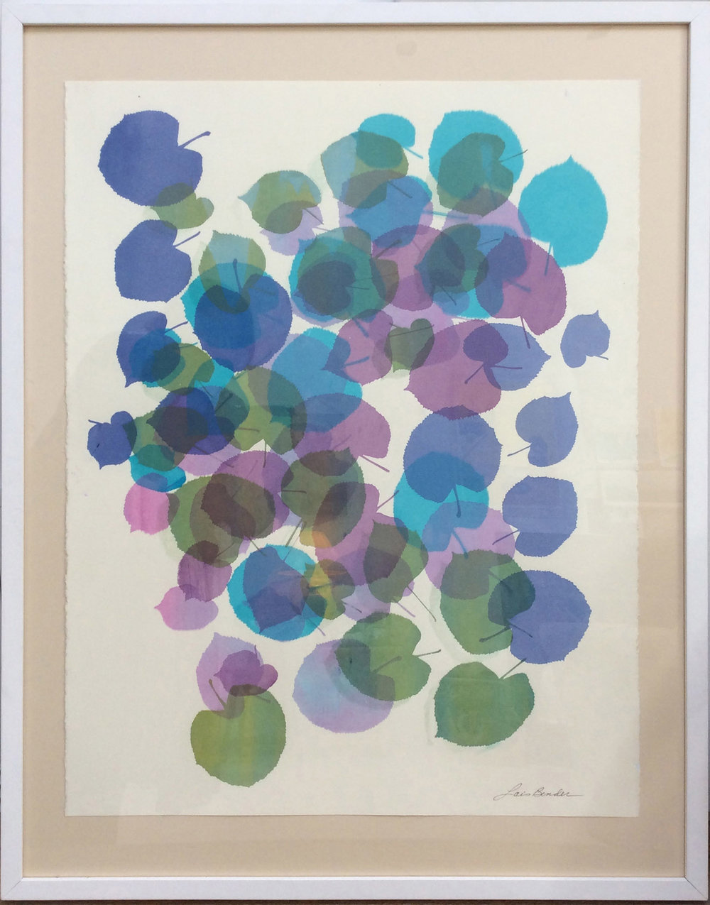 """""""Summer Leaves"""" Silkscreen Print"""