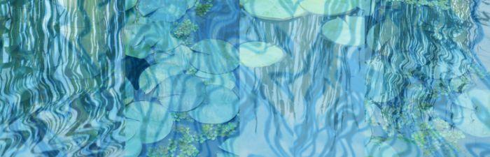 """Blue Pond IV""  Surround"