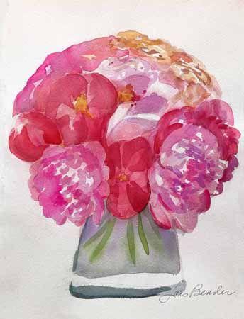 %22Peonies Bouquet I%22 11%22 x 17%22 Watercolor.jpg
