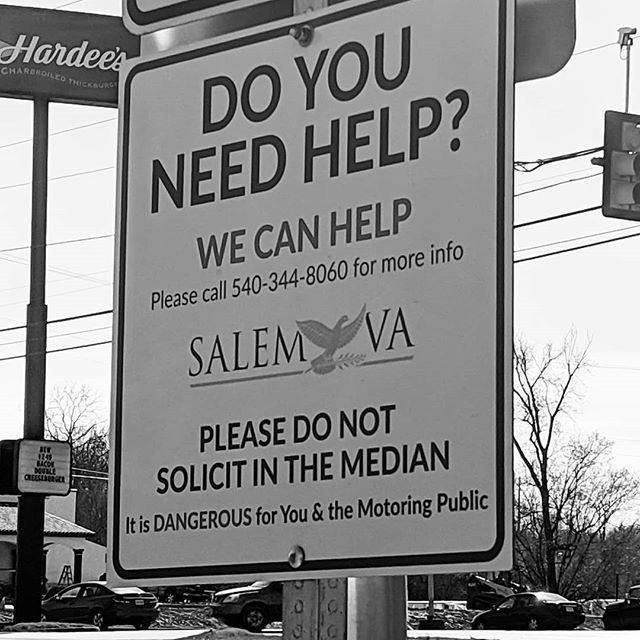 #Takeaway Moment, do you need help? #roadsigns #outreach #help #salem