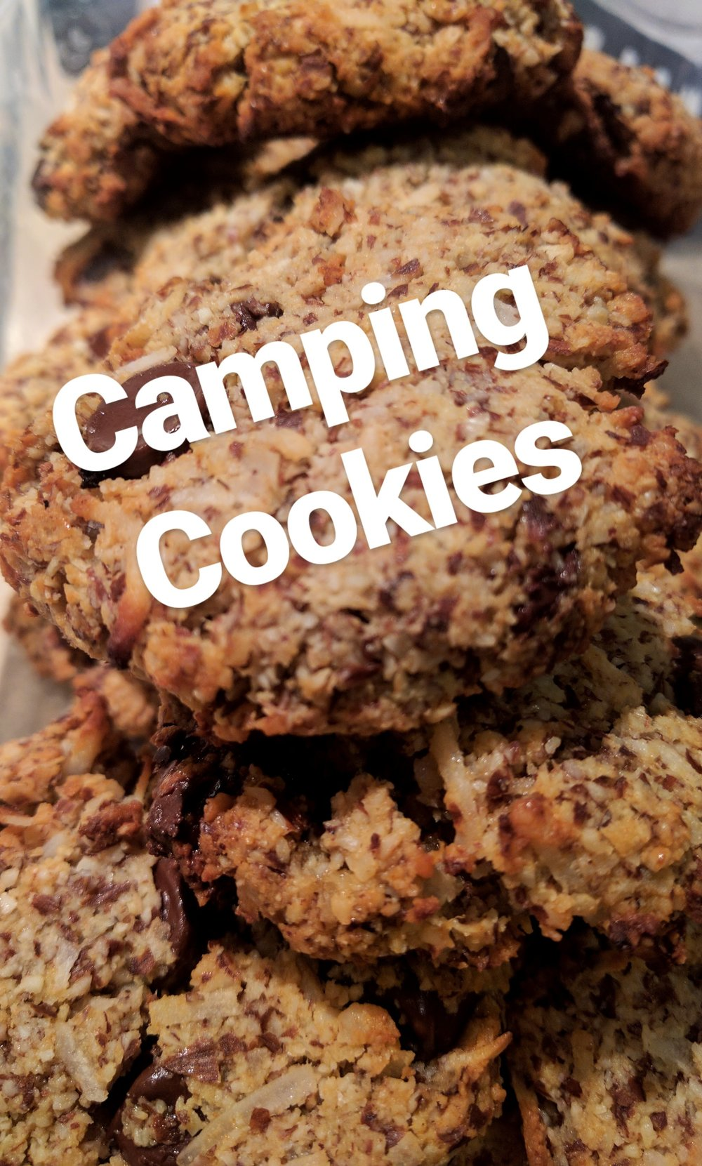 Cookies for Camping aka Camping Cookies Camping Food