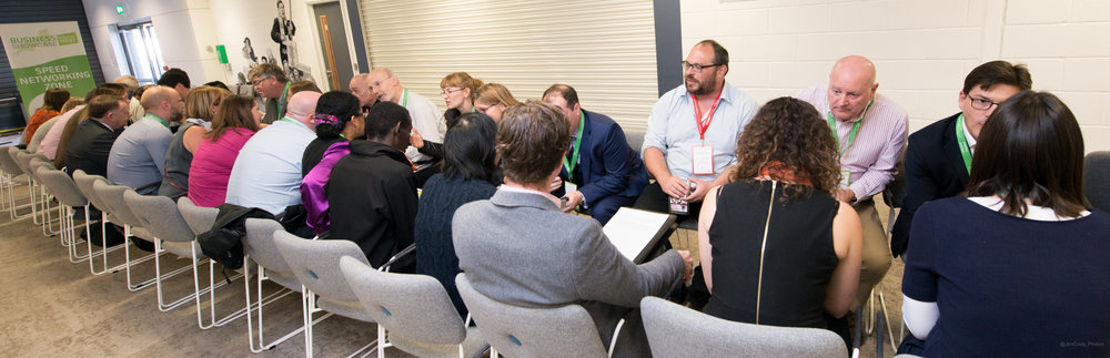 Speed Networking at Business Showcase South West in Oct 2016