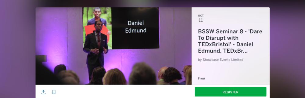 Click here to Book Free Tickets Now https://daniel-edmund-tedxbristol-seminar.eventbrite.co.uk