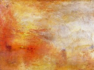 Essay | On JMW Turner's Sun Setting Over a Lake, The Miami Rail
