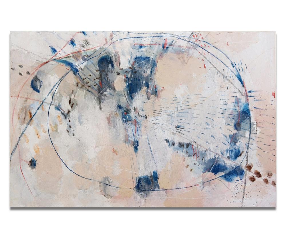 """""""Laetitia"""" (36x24""""), 2017."""