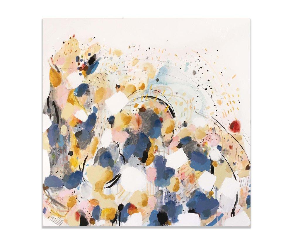 """Jacob"" (30x30""), 2017."