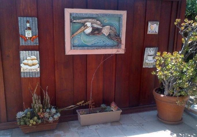 Outdoor space in Santa Ana, California