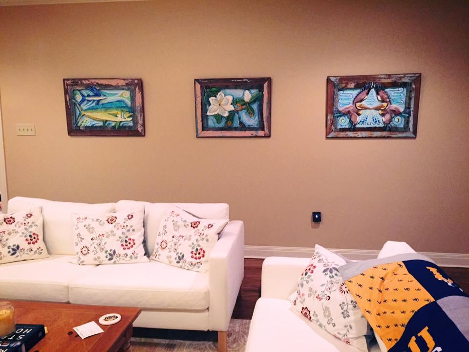 Living room in Baton Rouge