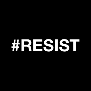 RESIST Movement - Postcard