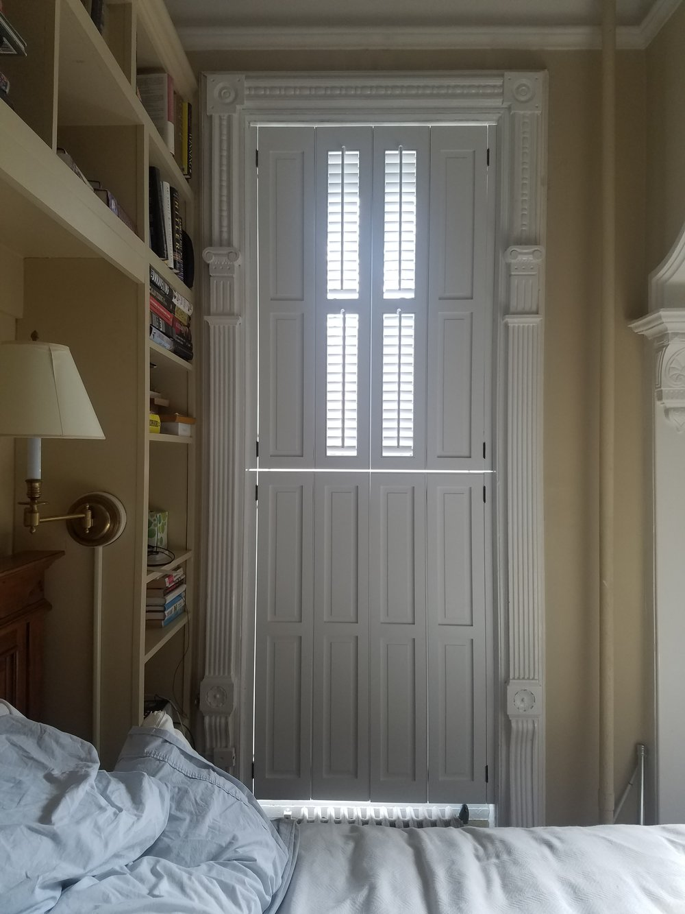 Traditional Window Shutters in Park Slope