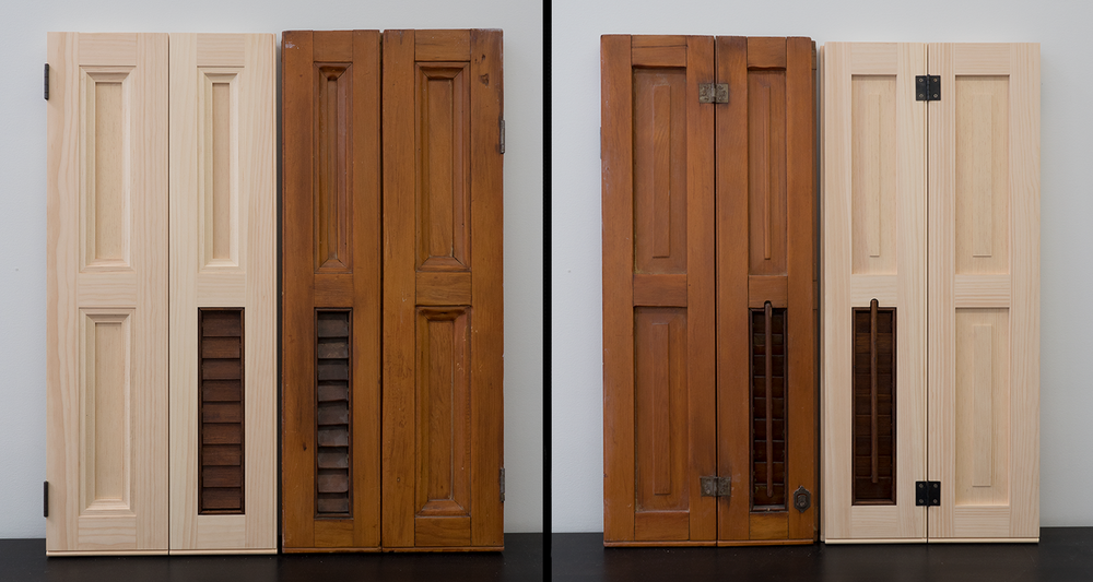 Replicated NYC Pocket Shutters