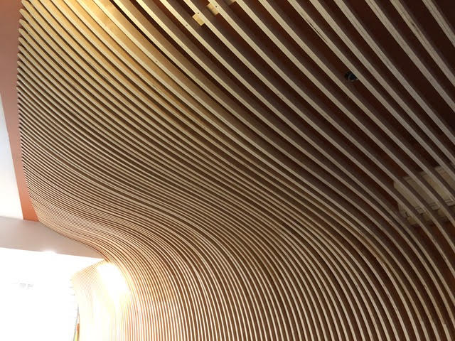 CNC SLICED WALL EXECUTED FOR BOLT DESIGN GROUP, NYC