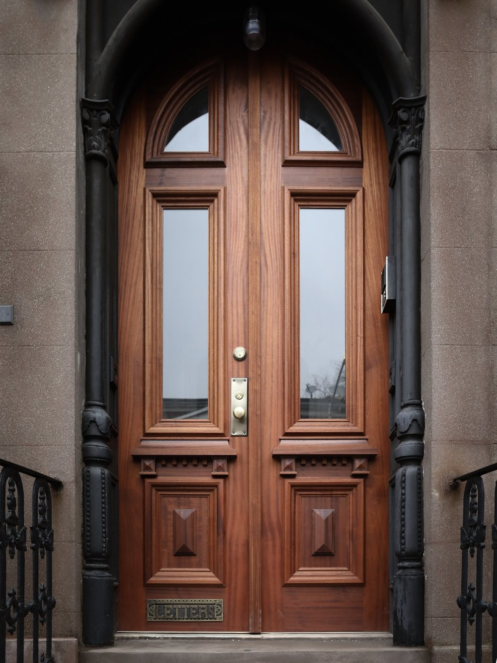 BOERUM HILL ENTRY DOOR, BROOKLYN NYC