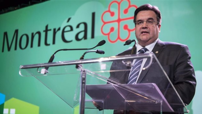 Montréal Mayor Denis Coderre.  Image from CBC.  http://www.cbc.ca/news/canada/montreal/montreal-mayor-denis-coderre-energy-east-opposition-1.3413117