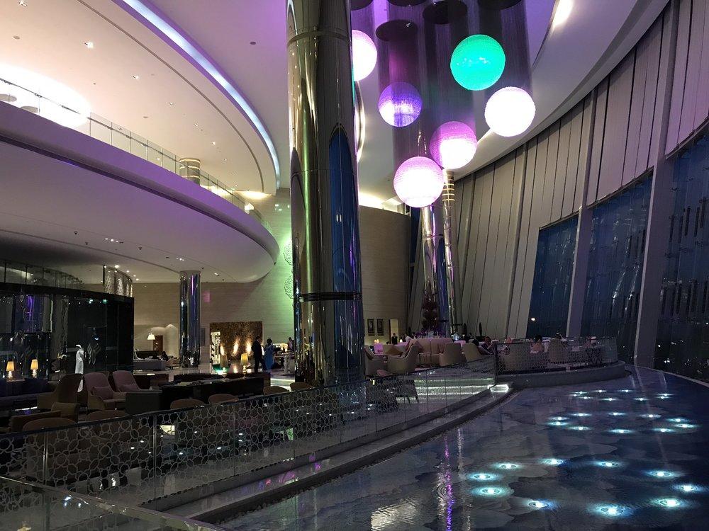 The Jumeirah at Etihad's ultra modern interior