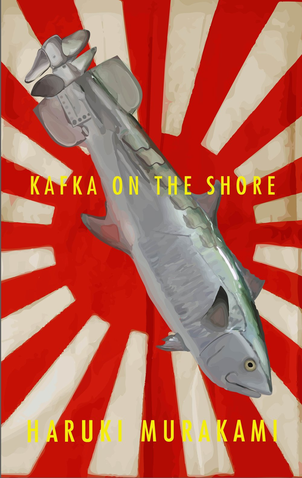 "Kafka on the Shore Cover, Digital, 11 x 8.5"" 2015."