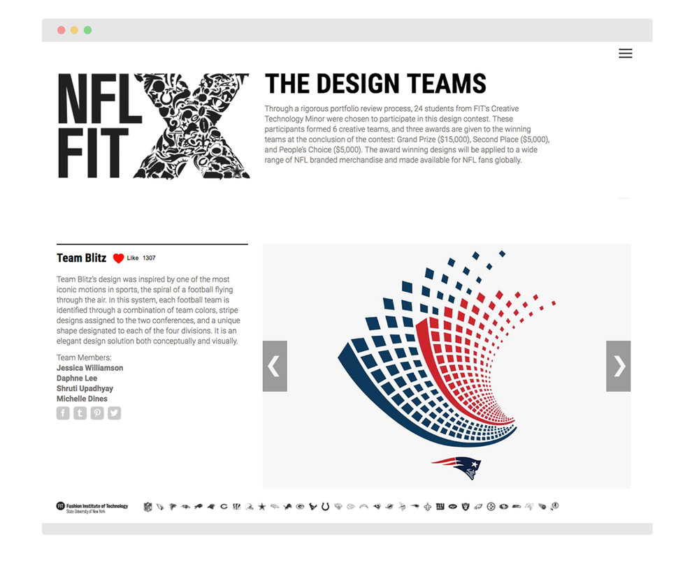 Click on the image to check out the live page with all the NFLxFIT designs!