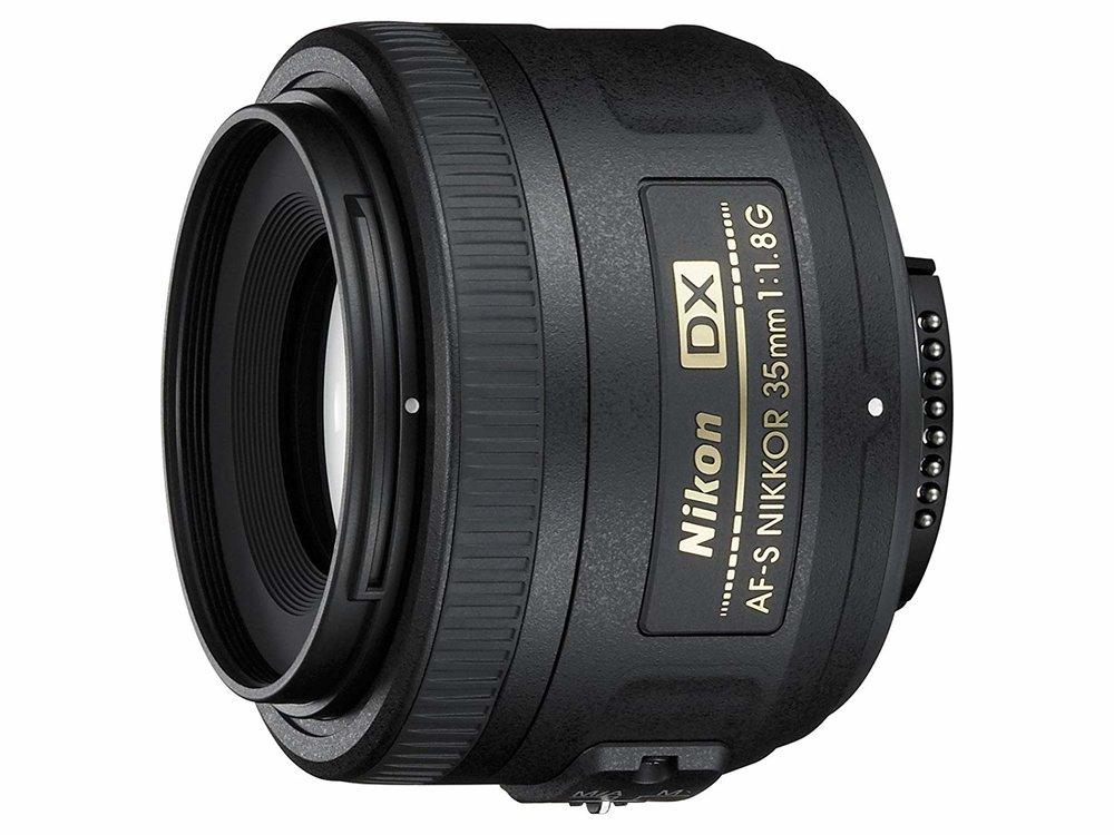 NIKON 35MM 1.8 G DX (CROP FRAME ONLY)