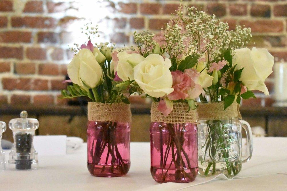 Jars of summer flowers.jpg
