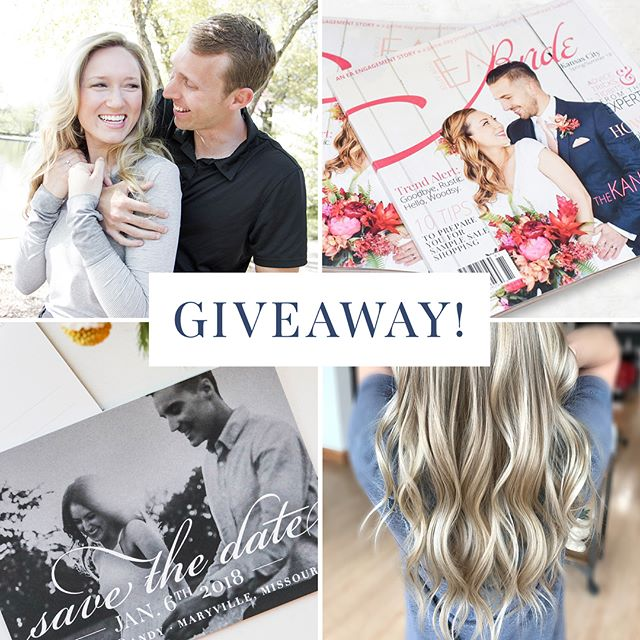 🎊🛍💍📣GIVEAWAY!!! To celebrate 1 year of business we've teamed up with some of our best creative friends to create an awesome giveaway for engaged couples! • •