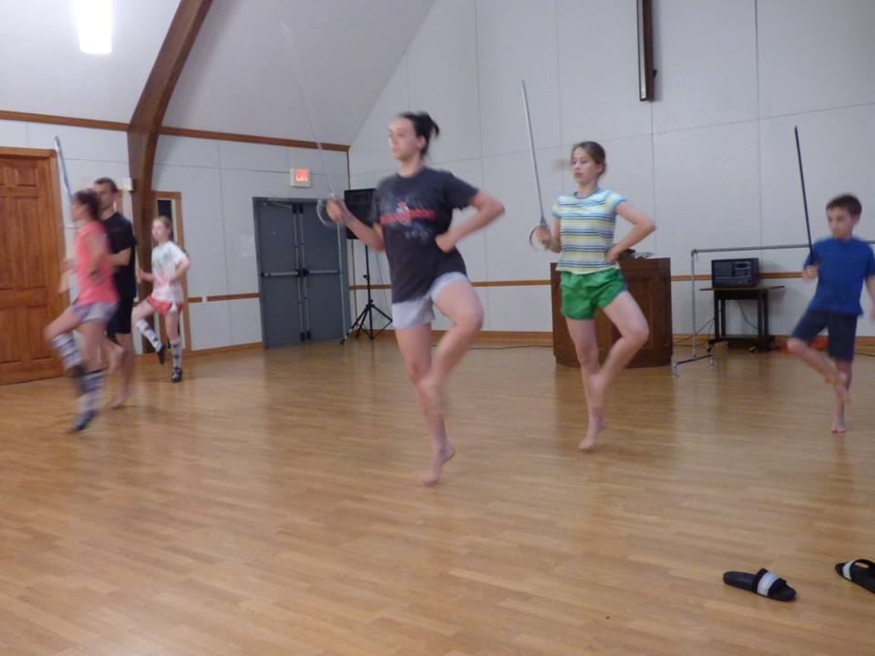 Murphy Highland Dance camp
