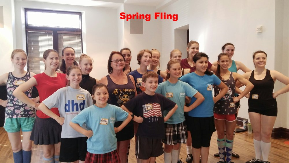 Spring Fling workshop