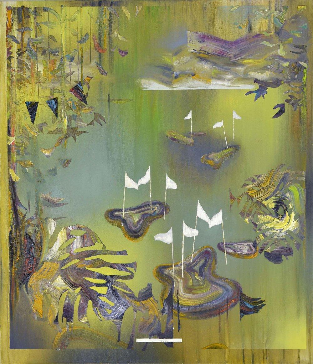 Terrain III  oil on canvas 65 x 75 cm, 2015