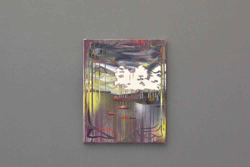 Gestade  oil on canvas 40 x 50 cm, 2015