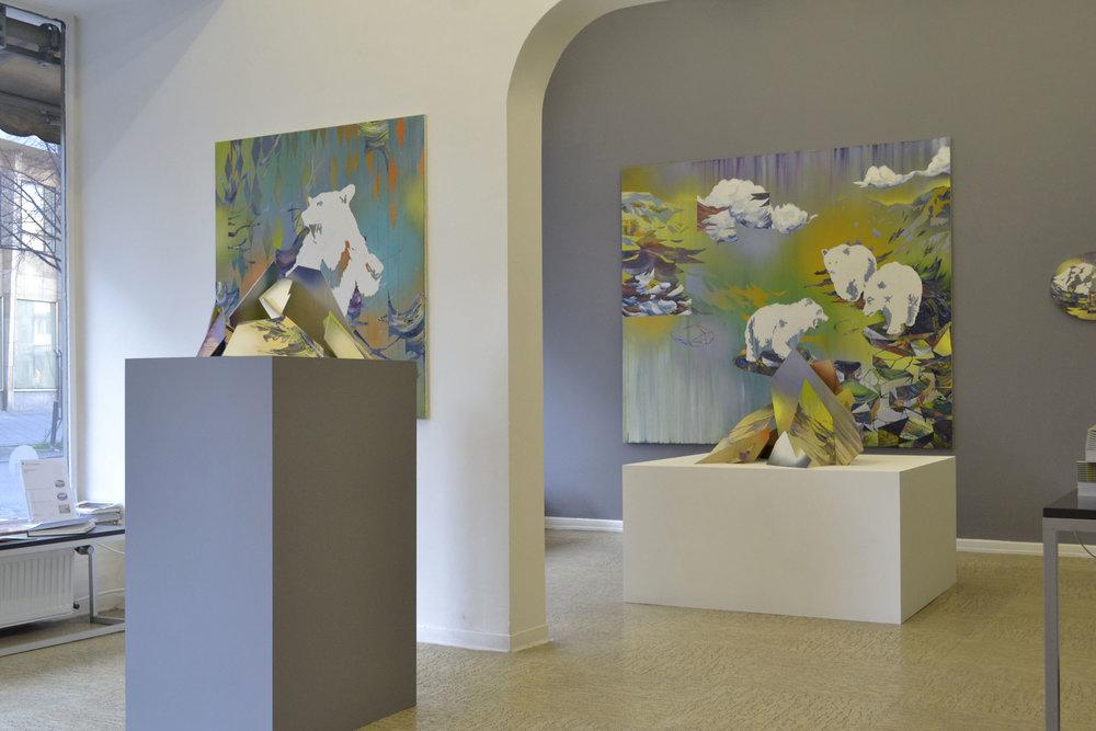 Matthias Moravek, %22Geroell%22, exhibition view2, 2014.jpg