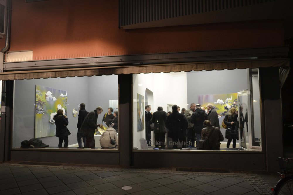 Geröll  Galerie Greulich Frankfurt/Main, 2014