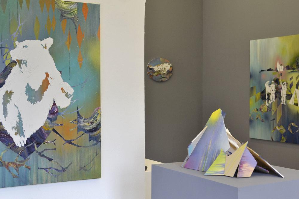 Matthias Moravek, %22Geroell%22, exhibition view9, 2014.jpg