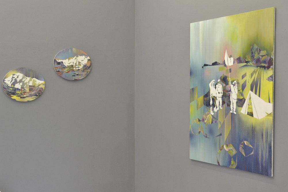 Matthias Moravek, %22Geroell%22, exhibition view12, 2014.jpg