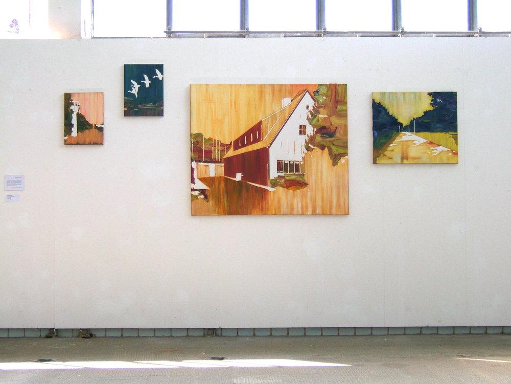 Ortschaffen   Kunstverein Tübingen 2008