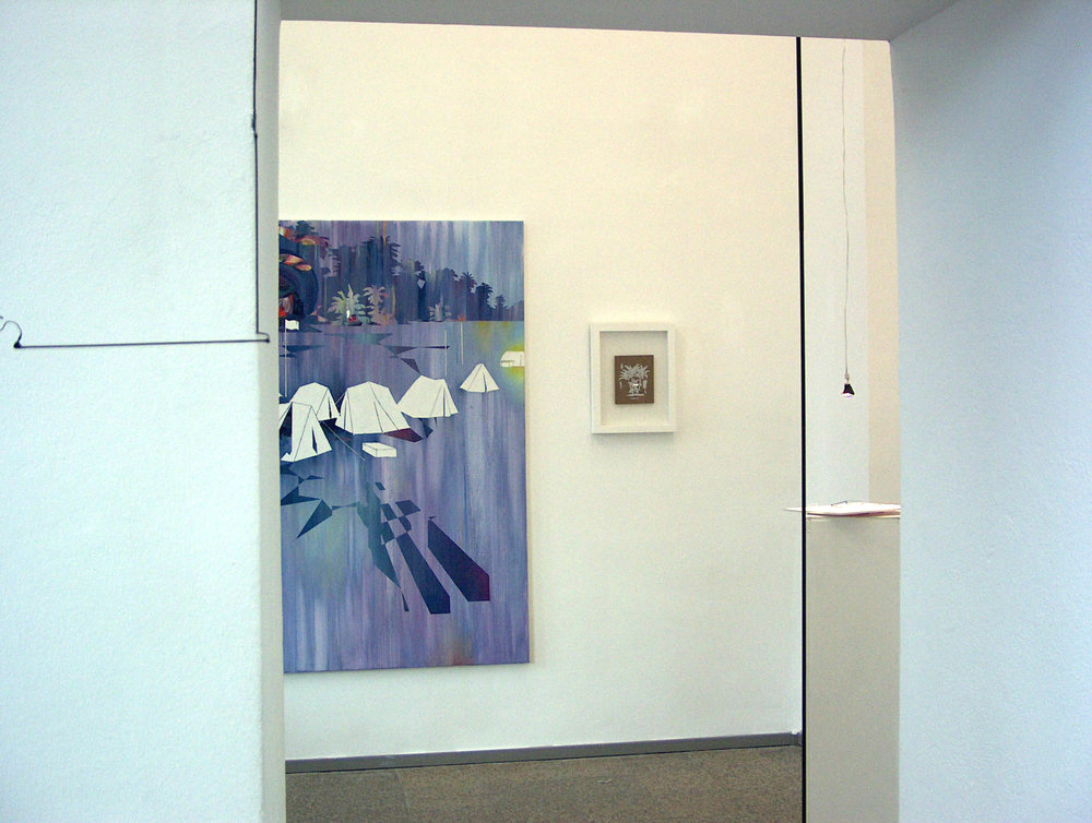 Schichtwechsel  Galerie im Pförtnerhaus Berlin, 2009