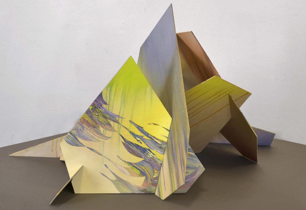 Rigg  65 x 120 x 90 cm mixed media, 2013