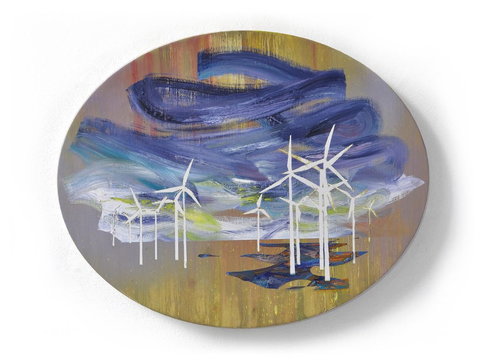 Barnim I  oil on canvas 40 x 50 cm, 2015