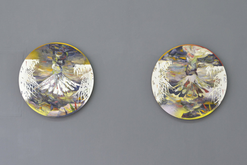 Es zieht vorbei (with Wanda Stolle)  Galerie Axel Obiger Berlin, 2018