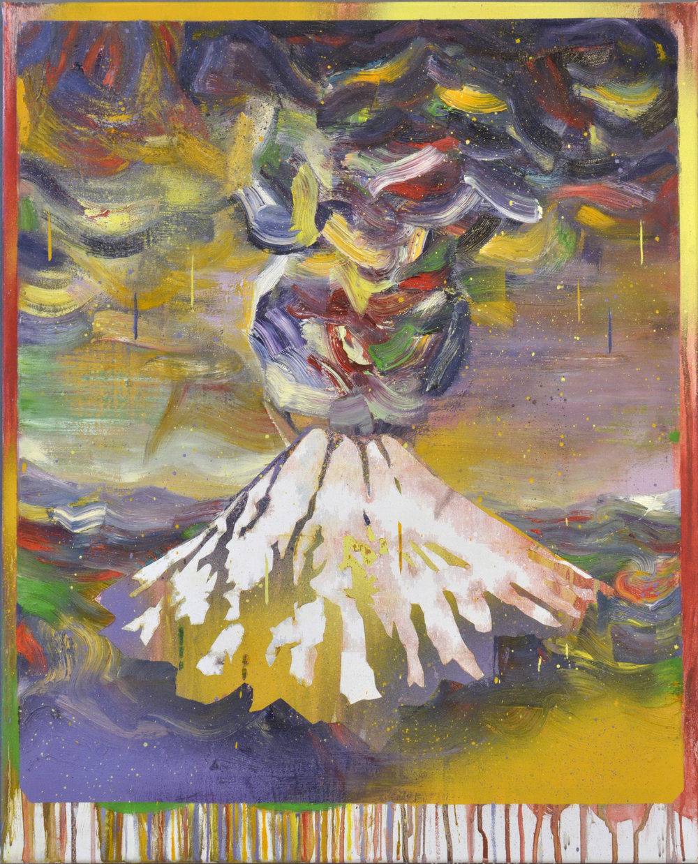 Sumbawa  oil on canvas 70 x 60 cm, 2018