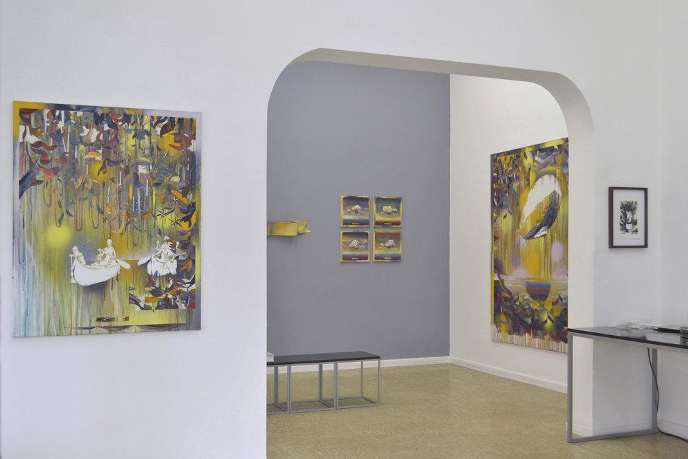 Exil im Malstrom  Galerie Greulich Frankfurt/Main, 2018
