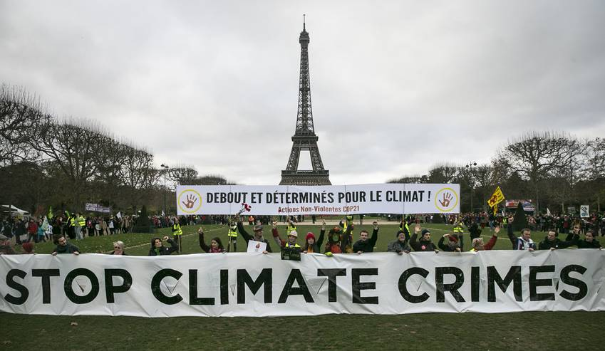 Its Us Vs The World Paris Climate Agreement Urban X