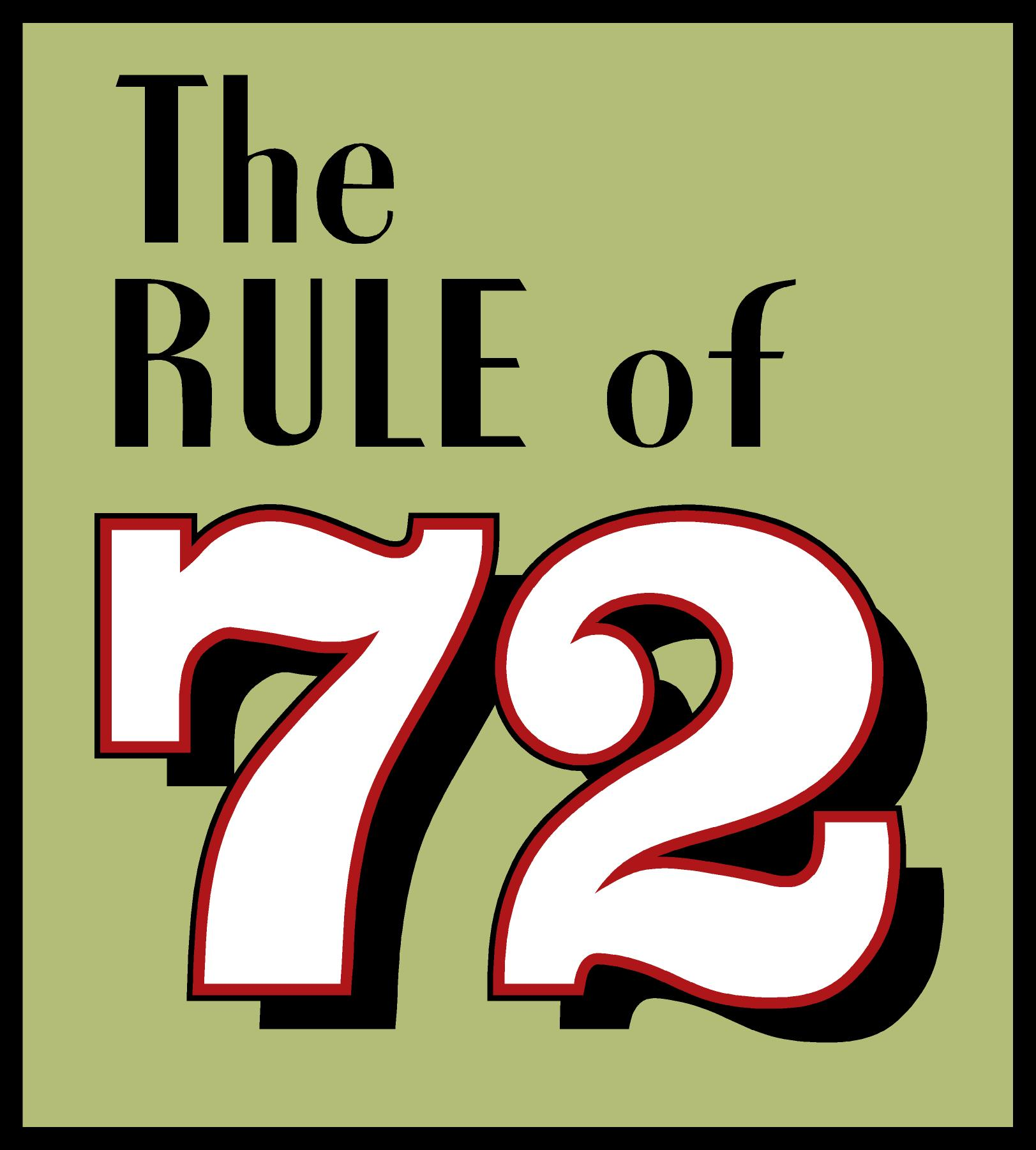 72 >> The Rule Of 72 Urban X
