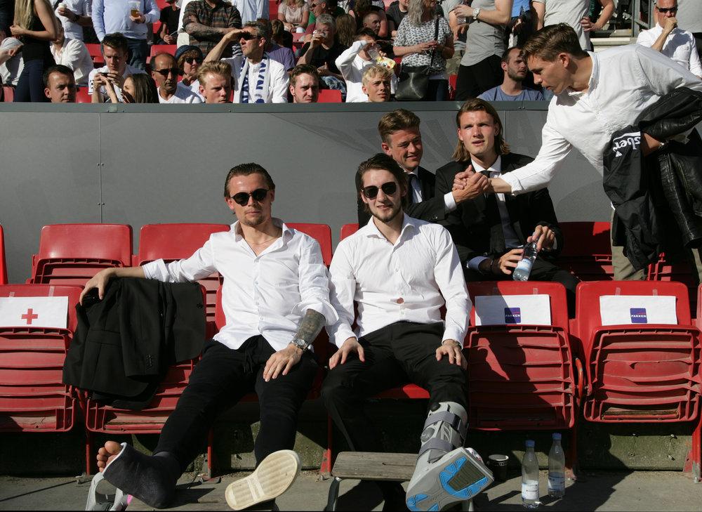 Anker og Falk spiller Københavnersmarte.