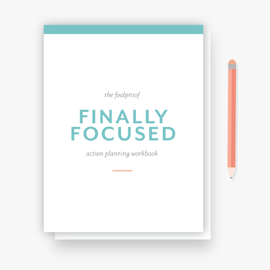 Hellohappen Focused Action Plan workbook