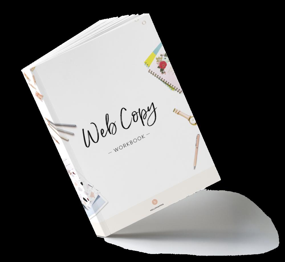Website Copy Workbook and Templates