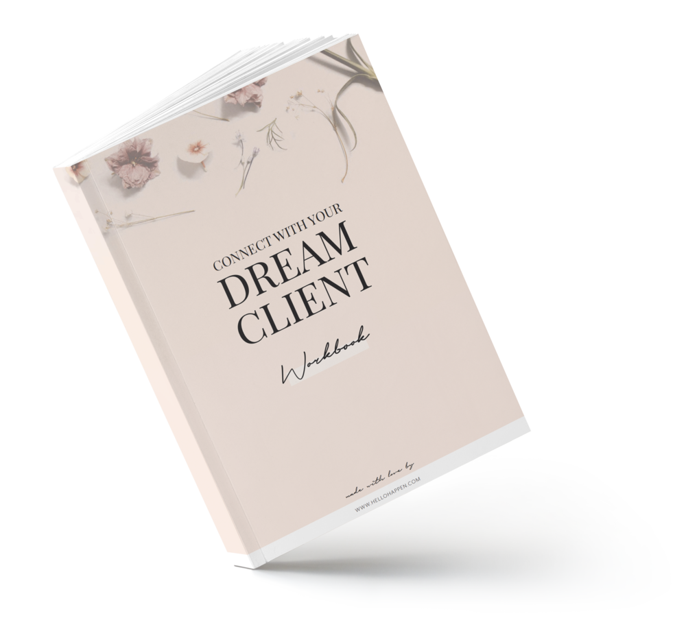 Connect with your Dream Clients workbook