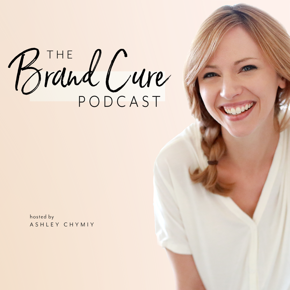 The Brand Cure Podcast available on iTunes, Google Play, and Spotify.