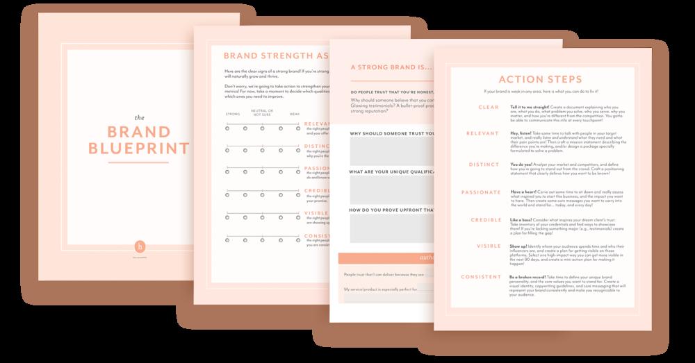 Brand blueprint for entrepreneurs