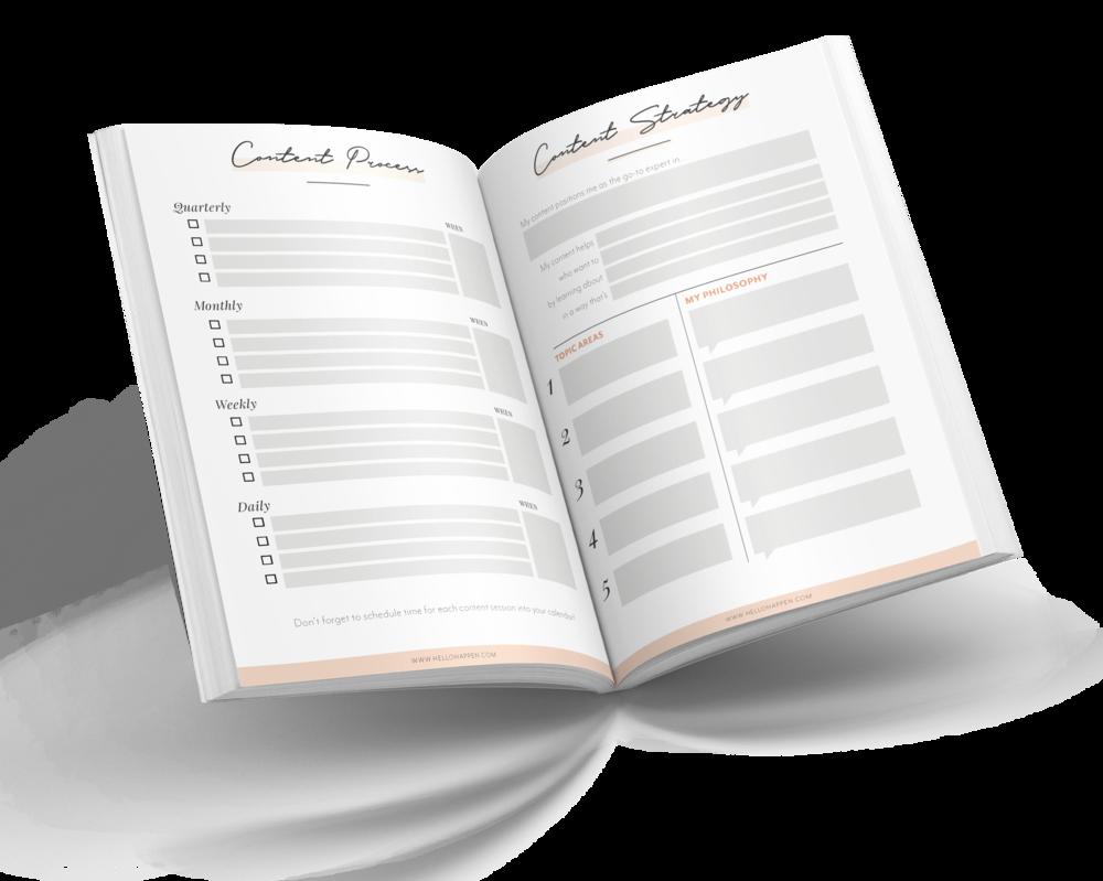 Hellohappen Content Strategy Workbook