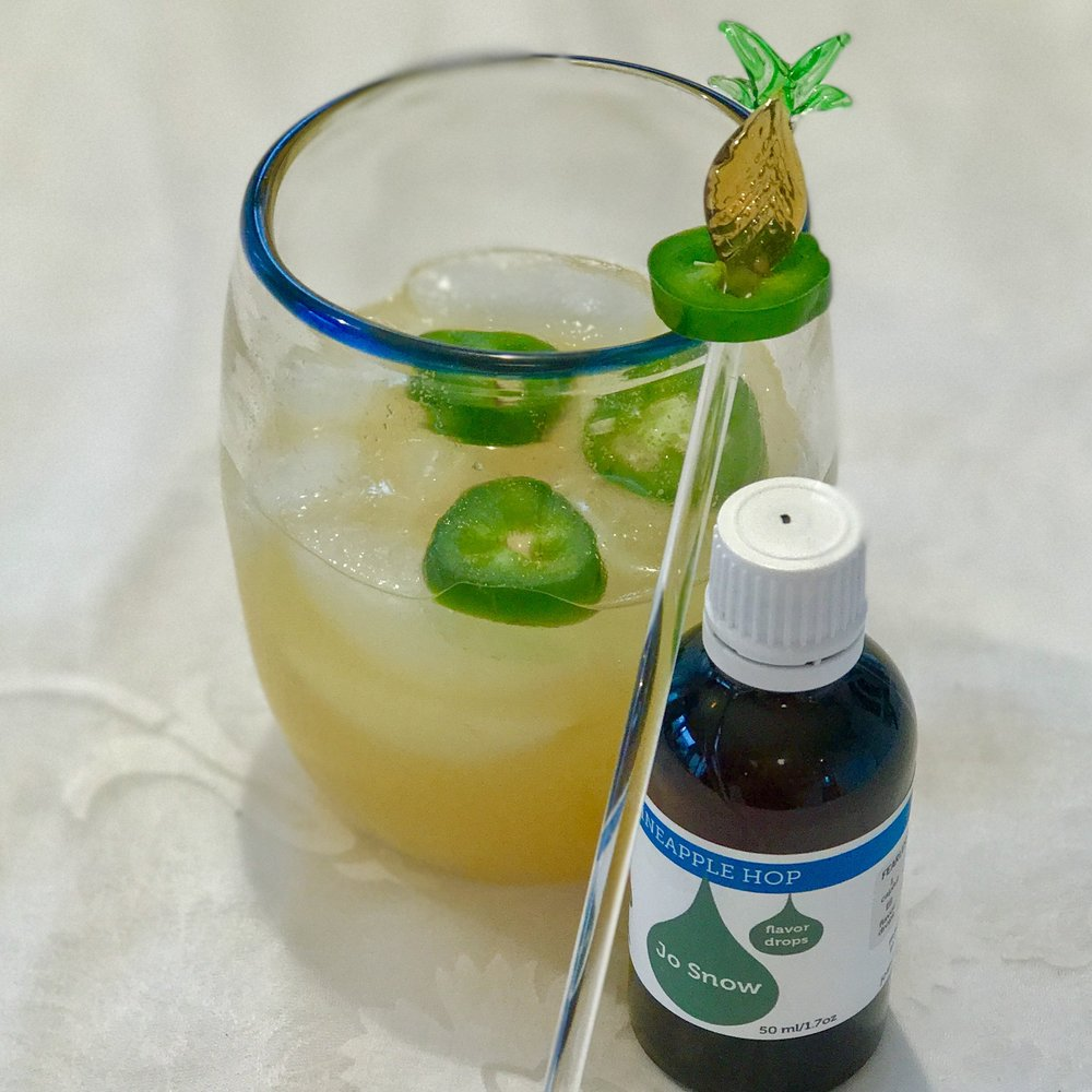 Passionate Hops  Flavor Drop: Pineapple Hop  Spirit: