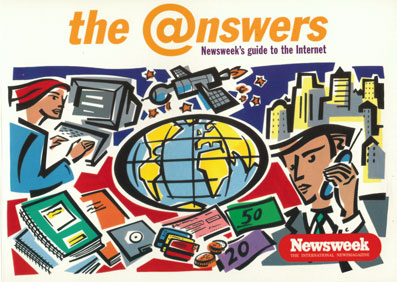 Newsweek Internet Guide - Co-wrote and edited by David Green way back in 1997,